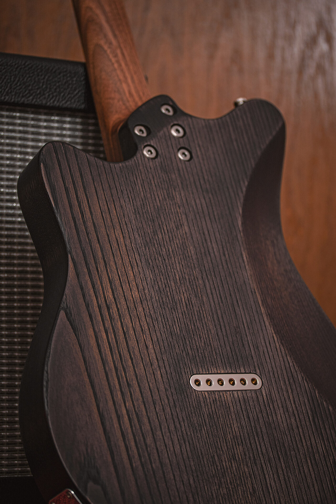 On Guitars - Star Black 3S - Backside
