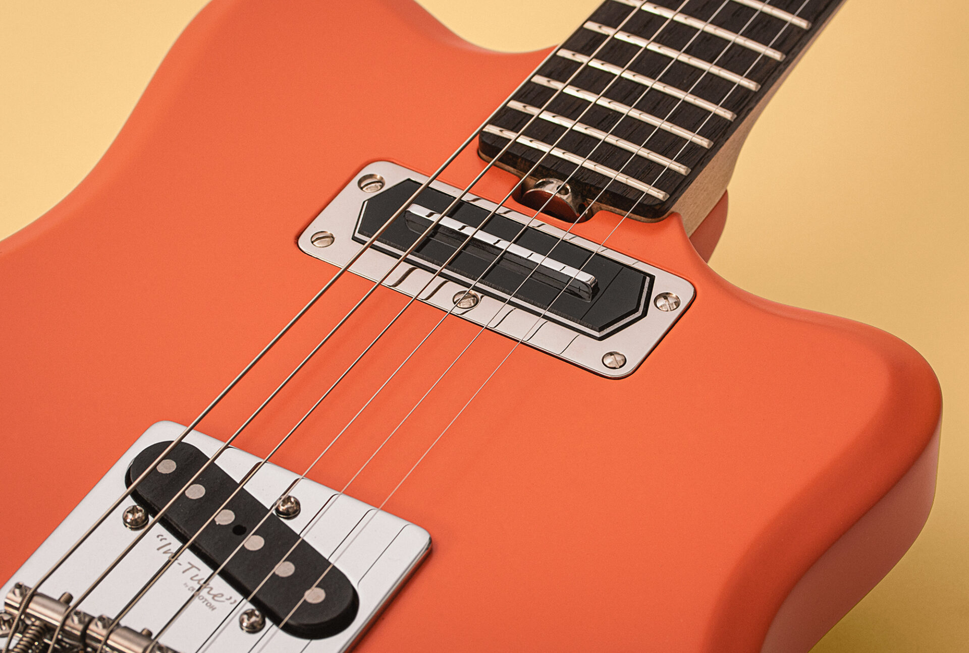 On guitars - Fink Salmon CT - Pickups